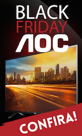 banner AOC Black FRiday Paraguai