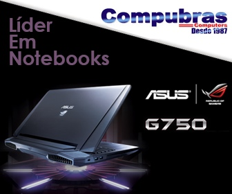 Banner Notebooks Asus na Compubras