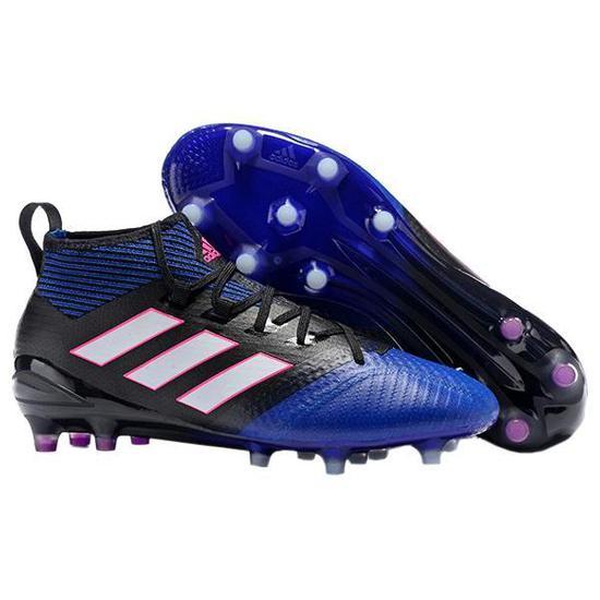 Chuteira Adidas Ace 17.1 Primek Azul Preto Masculino no Paraguai ... 796a18ff44291