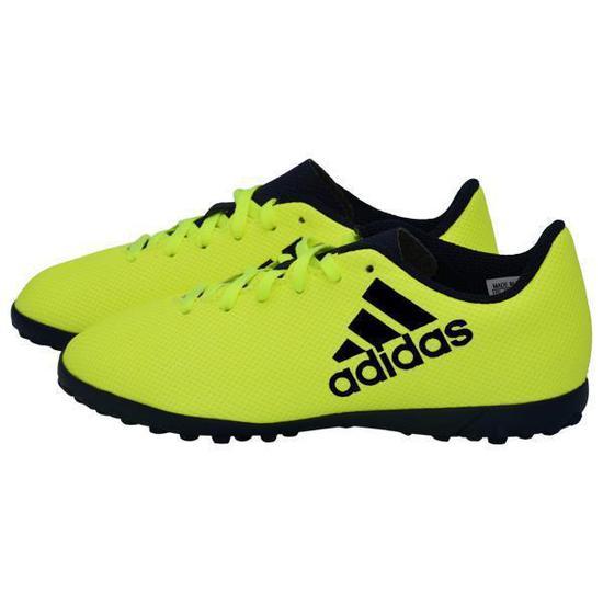 Chuteira Adidas X 17.4 Turf Infantil Verde no Paraguai ... 3a6d86678298b