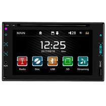 "DVD Player Automotivo Quanta QTRMT63 6.2"" SD / USB / Bluetooth foto principal"