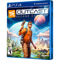 Game Outcast Second Contact Playstation 4 foto principal