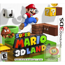 Game Super Mario 3D Land Nintendo 3DS foto principal