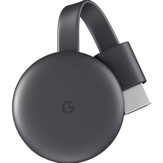 Chromecast 3 Google com HDMI NC2-6A5 - Caixa Quadrada e Tomada Americana