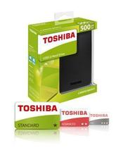 "HD Externo Toshiba Canvio 500GB 2.5"" USB foto 2"