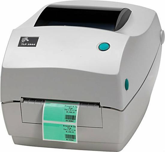 Impressora Zebra TLP-2844 USB no Paraguai ... Zebra Tlp 2844