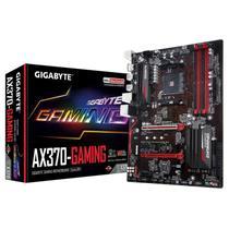 Placa Mãe AM4 Gigabyte AX370-Gaming 3 M.2/ DVI/ HDMI/ USB3.1/ Som/ Lan/ DDR4