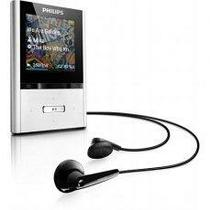 "MP4 Player Philips GoGear SA2VBE04S 4GB 1.5"" foto 1"