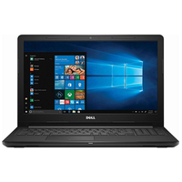 "Notebook Dell I3567-5949BLK Intel Core i5 2.5GHz / Memória 8GB / SSD 256GB / 15.6"" / Windows 10"