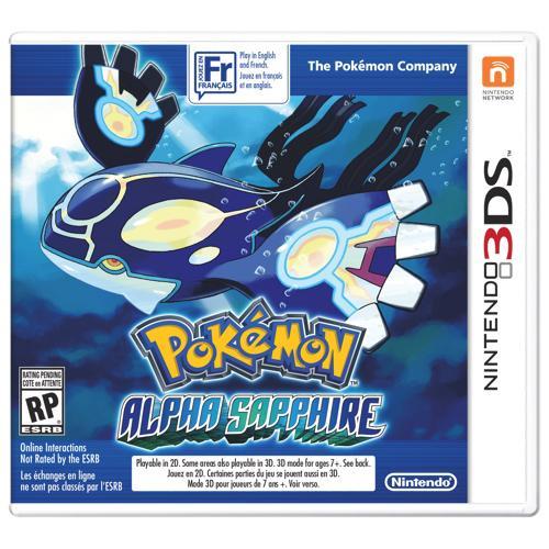 Nintendo 3ds Pokemon Games : Game pokemon alpha saphire nintendo ds no paraguai