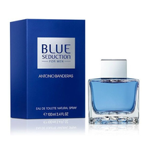 Perfume Antonio Banderas Blue Seduction Eau de Toilette Masculino 100ML foto 1