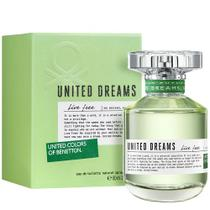 Perfume Benetton United Dreams Live Free Eau de Toilette Feminino 50ML foto 2