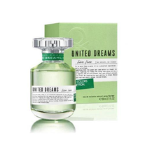 Perfume Benetton United Dreams Live Free Eau de Toilette Feminino 50ML foto 1