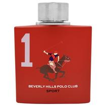Perfume Beverly Hills Polo Club Sport 1 Red Eau de Toilette Masculino 100ML foto principal