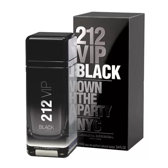 Perfume Carolina Herrera 212 Vip Black Eau de Parfum Masculino 100ML foto  principal c57d106c1a