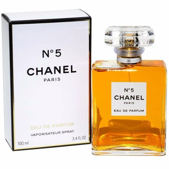 perfume chanel n 5 eau de parfum feminino 100ml no. Black Bedroom Furniture Sets. Home Design Ideas