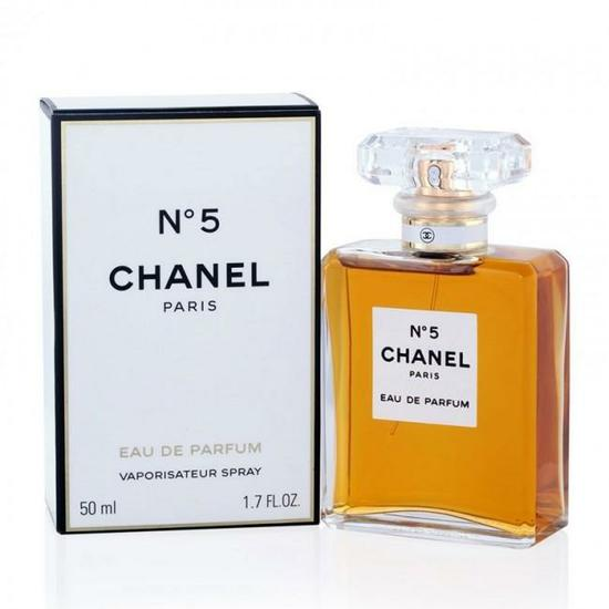perfume chanel n 5 eau de parfum feminino 50ml no paraguai. Black Bedroom Furniture Sets. Home Design Ideas