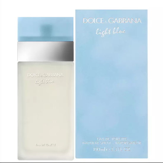 5b69ee9db2fa7 Perfume Dolce   Gabbana Light Blue Eau de Toilette Feminino 100ML no ...