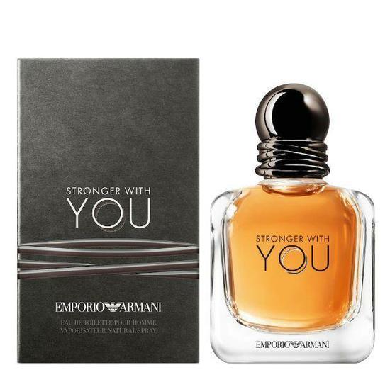 bb69b3d55b2 Perfume Giorgio Armani Emporio Stronger With You Eau de Toilette Masculino  50ML foto 1