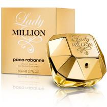 Perfume Paco Rabanne Lady Million Eau de Parfum Feminino 80ML foto 2