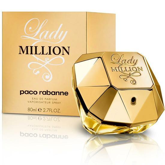 perfume paco rabanne lady million eau de parfum feminino. Black Bedroom Furniture Sets. Home Design Ideas