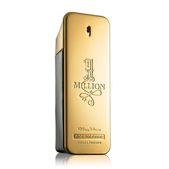 perfume paco rabanne one million eau de toilette masculino 100ml no paraguai comprasparaguai