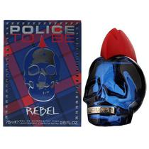 Perfume Police To Be Rebel Eau de Toilette Masculino 75ML foto 1