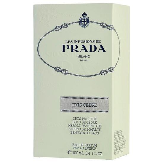 1dbed8548 Perfume Prada Les Infusions de Prada Milano Iris Cèdre Eau de Parfum  Feminino 100ML foto 1