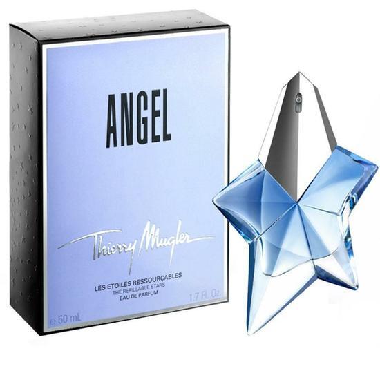 perfume thierry mugler angel eau de parfum feminino 50ml. Black Bedroom Furniture Sets. Home Design Ideas