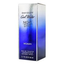 Perfume Davidoff Cool Water Night Dive Eau de Toilette Feminino 80ML foto 1