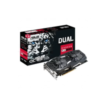 Placa de Vídeo Asus RX-580 Dual Oc 8GB GDDR5 PCI-Express
