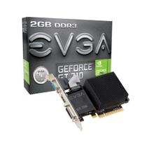 Placa de Vídeo EVGA GeForce GT710 2GB DDR3 PCI-Express foto principal
