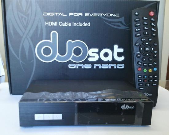 NANO - NOVA ATUALIZAÇÃO DO SEU APARELHO DUOSAT ONE NANO HD. Receptor_digital_duosat_one_nano_5565_550x550