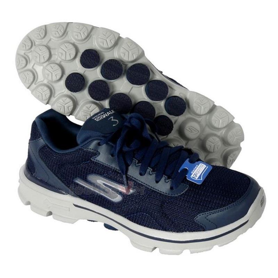 06526c2d0 Tênis Skechers Go Walk 3 Fit Knit 53981 Masculino no Paraguai ...