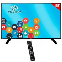 "TV Vizzion LED 55U2 Ultra HD 55"" foto principal"