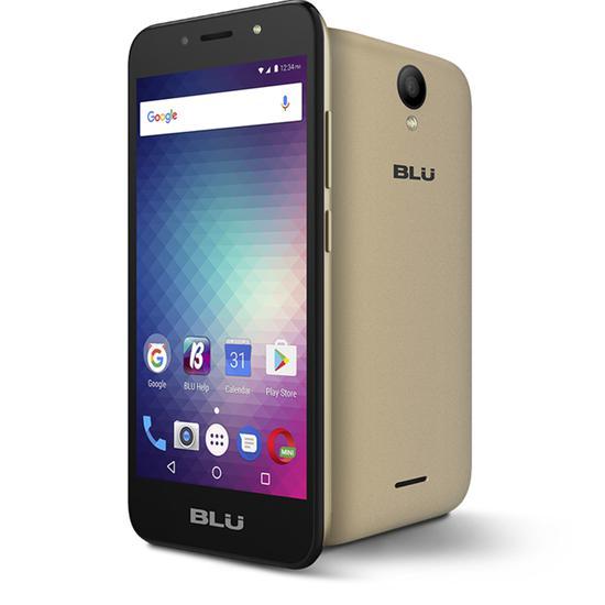 Celular Blu Studio J2 s-590Q Dual 8GB Dourado