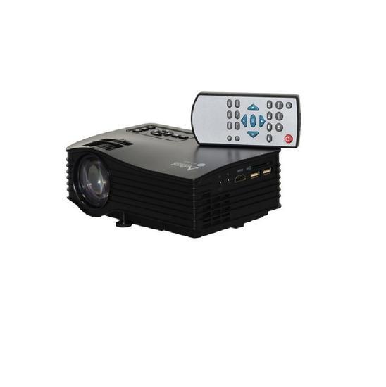 Projetor Audisat PJ-035 HDMI/USB/1000 Lumens Preto