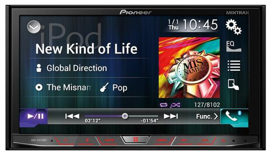 Toca DVD Pioneer AVH-X8750BT Bluetooth