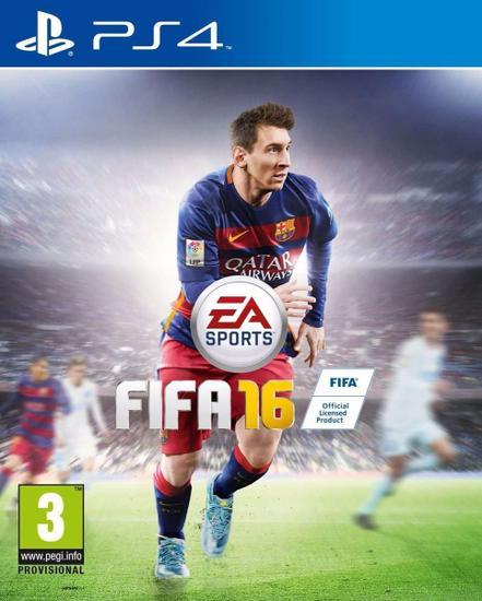 Fifa 2016 (Usa) Ing/Espanhol PS4