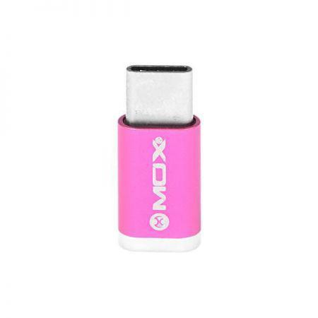 Adaptador USB para USB-C Mox MO-PL02 - Rosa