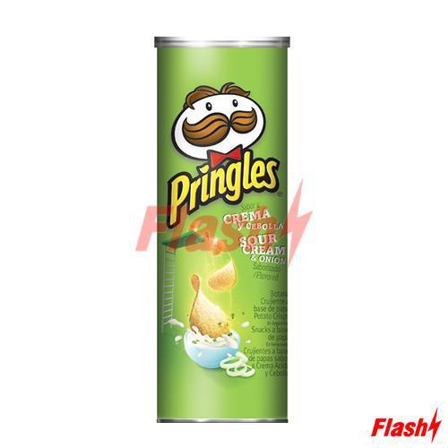 Batata Frita Pringles Creme de Cebola Tubo 137G
