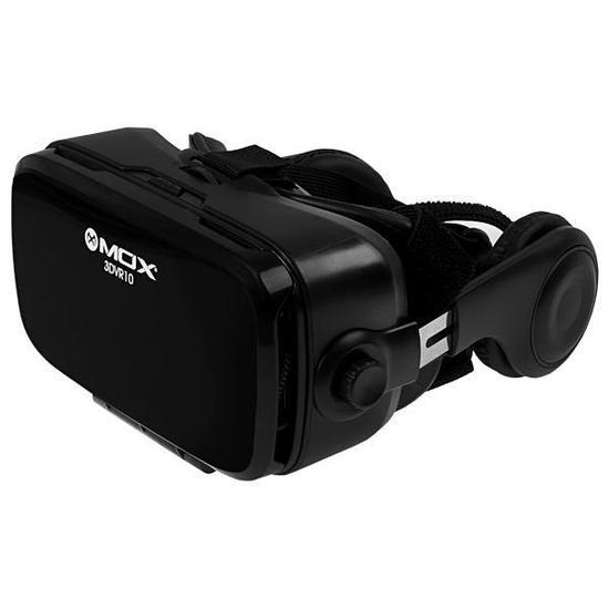 Oculos de Realidade Virtual Mox 3DVR10 com Fone de Ouvido - Preto 7bf1f745ad