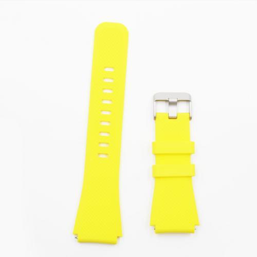 Pulseira 4LIFE de Silicone para Samsung Gear S3 - 22MM - Amarelo