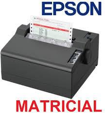 Impressora Epson LX 50 USB - 110/220V/Bivolt - Paralelo - Preto