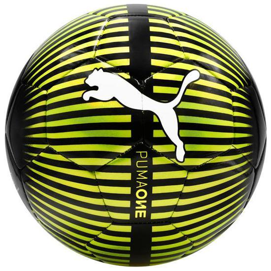 Bola de Futebol Puma One Chrome - Preto Verde na loja Mega Shopping ... 46619cc0e74bb