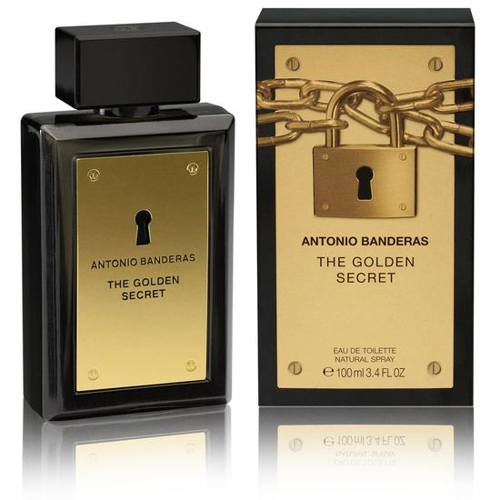 Perfume Antonio Banderas The Golden Secret 100ML Edt - Masculino