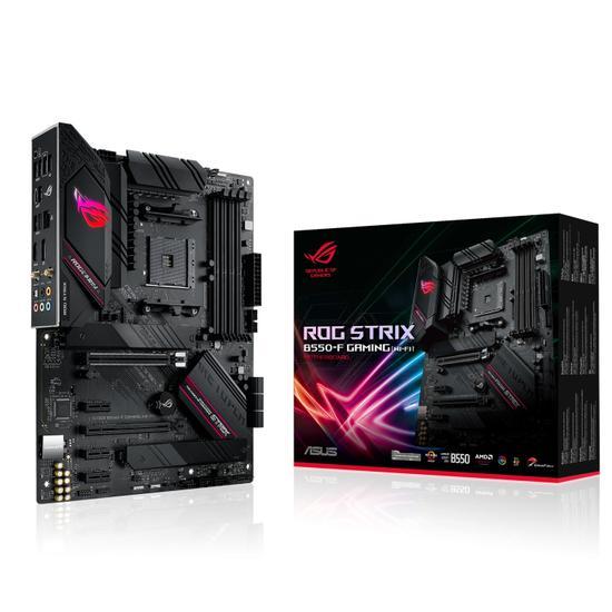Placa Mãe AM4 Asus B550-F Rog Strix Gaming Wifi DP/HDMI