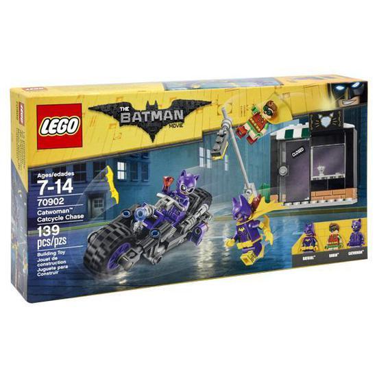 Blocos de Montar Lego Batman Catwoman Catcycle Chase - 139 Pecas