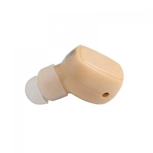 Fone de Ouvido Sem Fio Midi M8 com Bluetooth - Bege