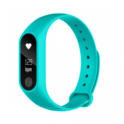 Relogio Smartwatch Health Bracelet M2 com Monitor Cardiaco / Bluetooth - Verde